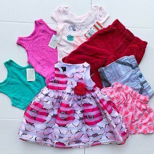 Girls Mixed Clothing lot – 8 items - Size 12M